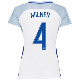 England Home Shirt 2016 - Womens with Milner 4 printing