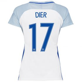 England Home Shirt 2016 - Womens with Dier 17 printing