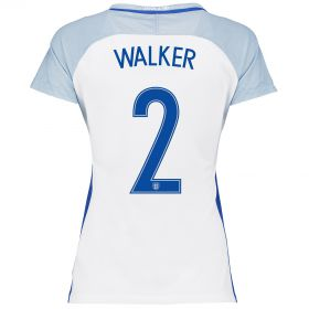 England Home Shirt 2016 - Womens with Walker 2 printing