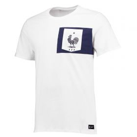 France Crest T-Shirt - White