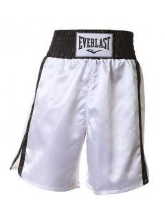 Everlast Боксови шорти Pro Boxshort - Бяло