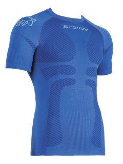 Spokey Мъжкa термо тениска Drift - Синьо