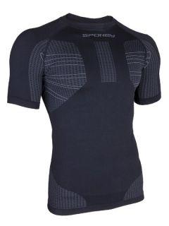 Spokey Мъжкa термо тениска Drift - Черно