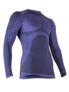 Spokey Мъжка термо блуза Sonora - Синьо