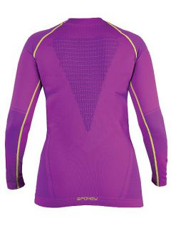 Spokey Дамска термо блуза Allure - Лилаво