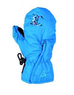 LHOTSE Детски ски ръкавици DJEMBE BLUE - Синьо