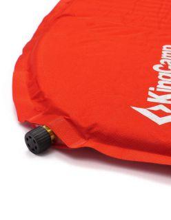 KingCamp Самонадуваща постелка Dot Light - Червено