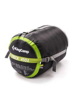 KingCamp Спален чувал Treck 450 Green - Зелено
