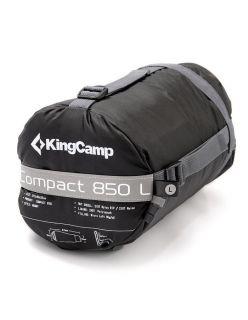 KingCamp Спален чувал Compact 850L - Сиво