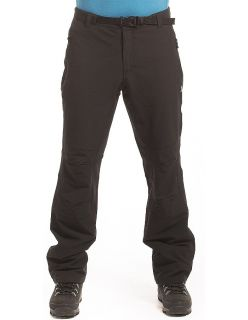 Alpine Pro Мъжки софтшел панталон CARB - Черно