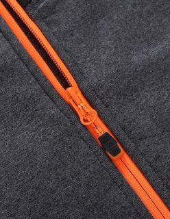 Alpine Pro Мъжки полар MEZZO 3 - Сиво