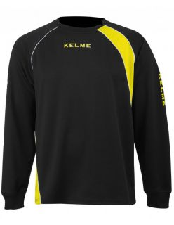 Kelme Блуза Cartago Sweatshirt 75518-112 Black Yellow - Черно