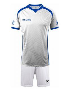 KELME Футболен екип Premium Set 78151-6 White - Бяло