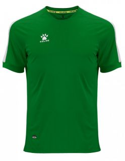 KELME Тениска Global S/S Jersey JR 78162-22 Dark Green - Зелено