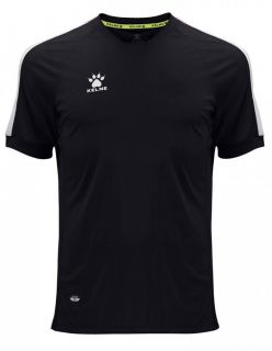 KELME Тениска Global S/S Jersey JR 78162-26 Black - Черно