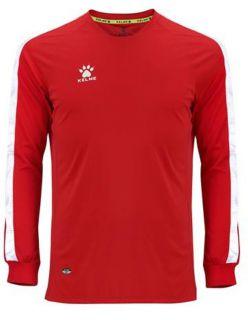 Kelme Блуза Global M/L Jersey 78167-130 Red - Червено