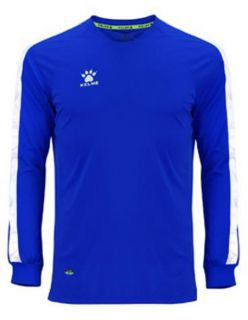 Kelme Блуза Global M/L Jersey 78167-196 Royal White - Синьо