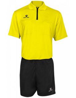 Kelme Реферски екип Arbitro Referee Set 78180-151 Yellow - Червено