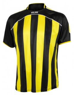 KELME Тениска Liga S/S Jersy 78326-112 Black Yellow - Черно/Жълто