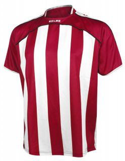 KELME Тениска Liga S/S Jersy 78326-129 Red White - Червено/Бяло