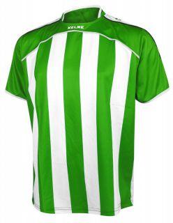 KELME Тениска Liga S/S Jersy 78326-218 Green White - Зелено/Бяло