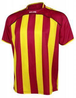 KELME Тениска Liga S/S Jersy 78326-385 Red Yellow - Зелено/Бяло