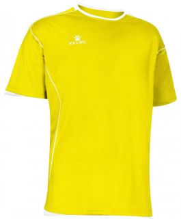 Kelme Тениска Mundial S/S Jersey 78401-151 Yellow - Жълто
