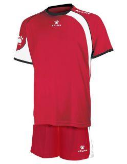 KELME Детски Футболен екип Cartago Set JR 78411-129 Red White - Червено