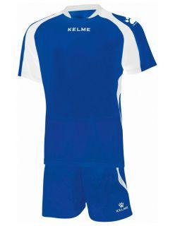 KELME Детски Футболен екип Saba Set JR 78412-196 Royal White - Синьо