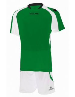 KELME Детски Футболен екип Saba Set JR 78412-218 Green White - Зелено
