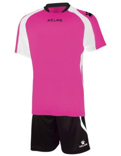 KELME Детски Футболен екип Saba Set JR 78412-992 Fuchsia Black - Розово