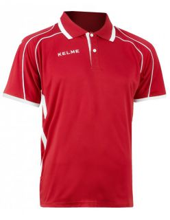 KELME Тениска Saba S/S Polo Training 78414-130 Red - Червено