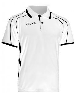 KELME Тениска Saba S/S Polo Training 78414-6 White - Бяла