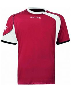 Kelme Тениска Cartago S/S T-Shirt 78415-129 Red White - Червено