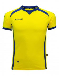 KELME Детска Тениска Premium S/S Jersey JR 78435-151 Yellow - Жълто