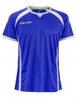 KELME Детска Тениска Premium S/S Jersey JR 78435-703 Royal - Синьо