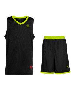 Kelme Баскетболен екип Over Set Basketball 80702-112 Black Yellow - Черно