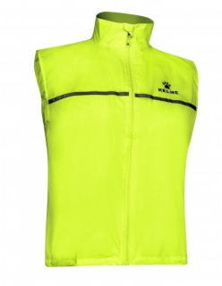 Kelme Елек Chaleco Sleeveless Wind Breaker 80862-402 Lime - Жълто