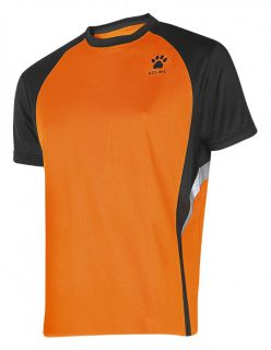Kelme Тениска Gravity Athletics S/S Training T-Shirt 87253-317 Orange Black - Оранжево