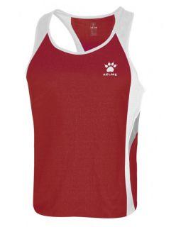 Kelme Потник Gravity Athletics Competition Sleeveless T-Shirt 87254-129 Red White - Червено