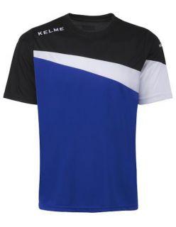 Kelme Тениска MC Sur S/S Training T-Shirt 93100-190 Royal Black - Синьо