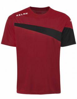 Kelme Тениска MC Sur S/S Training T-Shirt 93102-145 Red Black - Червено