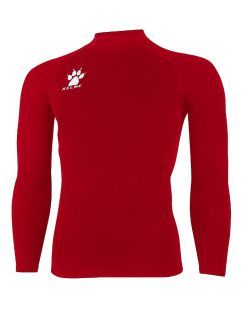 Kelme Блуза Thermic Underwear L/S T-Shirt 98813-130 Red - Червено