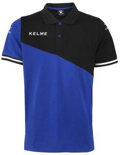 Kelme Блуза с къс ръкав Polo MC Sur S/S 93097-190 Royal Black - Синьо