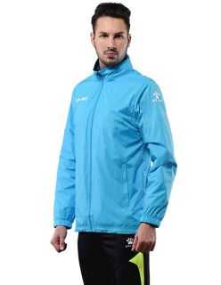 KELME Яке Sur Rain Jacket Training 93099-212 Turquoise - Синьо