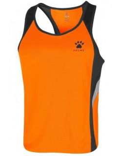 Kelme Потник Gravity Athletics Competition Sleeveless T-Shirt 87254-317 Orange Black - Оранжево