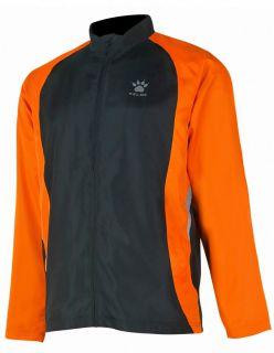 Kelme Ветровка Gravity Athletics Wind Breaker 87260-244 Black Orange - Оранжево