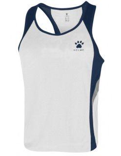 Kelme Потник Gravity Athletics Competition Sleeveless T-Shirt 87254-171 White Navy - Бяло