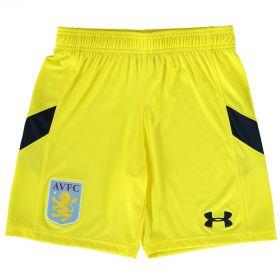 Aston Villa Home Goalkeeper Shorts 2016-17 - Kids Yellow