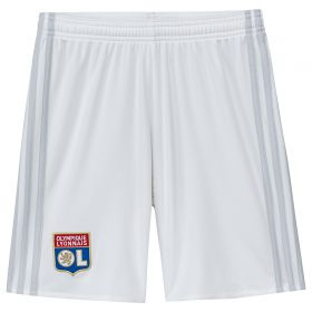 Olympique Lyon Home Shorts 2017-18 - Kids
